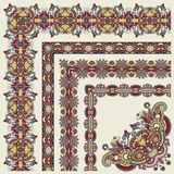 Floral vintage frame design.All components are Royalty Free Stock Photos