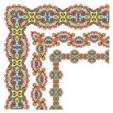 Floral vintage frame design Royalty Free Stock Image