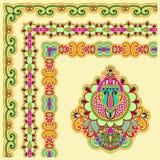 Floral vintage frame design Stock Photo