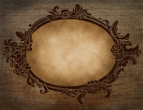 Floral vintage frame Royalty Free Stock Photography