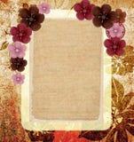 Floral vintage framework Stock Image