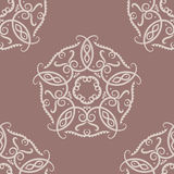 Floral vintage ornaments. Seamless patterns for fabric and wallpaper. Vector illustration Stock Photos