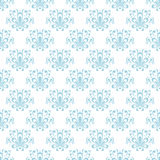 Floral vintage ornaments. Seamless patterns for fabric and wallpaper. Vector illustration Royalty Free Stock Photo