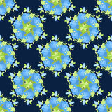 Floral vintage pattern, seamless old background. Stock Photos