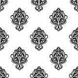 Floral vintage seamless arabesque pattern Royalty Free Stock Photo