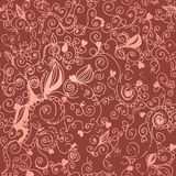 Floral vintage seamless background Stock Images