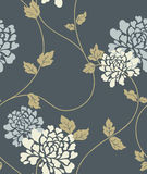 Floral vintage seamless pattern stock illustration