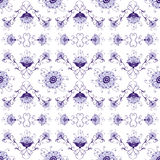 Floral vintage seamless pattern Royalty Free Stock Images