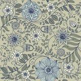 Floral vintage seamless pattern Royalty Free Stock Image