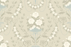 Floral vintage seamless pattern vector illustration