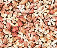 Floral vintage seamless pattern. Template for paper, textile, wallpaper and stationery.