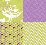 Floral vintage seamless pattern Royalty Free Stock Photography