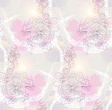 Floral vintage seamless pattern Stock Images