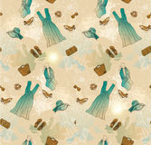 Floral vintage seamless pattern Royalty Free Stock Photos
