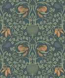 Floral vintage seamless pattern for retro wallpapers. Enchanted Royalty Free Stock Images