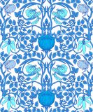 Floral vintage seamless pattern for retro wallpapers. Enchanted Stock Images