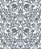 Floral vintage seamless pattern for retro wallpapers. Enchanted Stock Photography