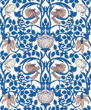 Floral vintage seamless pattern for retro wallpapers. Enchanted Stock Photos