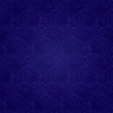 Floral vintage seamless pattern on a violet background. Vector background Royalty Free Stock Photo