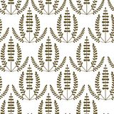 Floral vintage seamless vector pattern Stock Photo