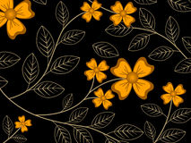 Floral Vintage Vector Royalty Free Stock Photos