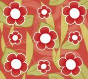 Floral vintage wallpaper stock illustration