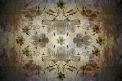 Floral vintage wallpaper Royalty Free Stock Images