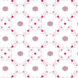 Floral Vintage Wallpaper Royalty Free Stock Photos