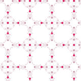 Floral Vintage Wallpaper. Vector illustration of a pinkish vintage seamless pattern wallpaper Vector Illustration
