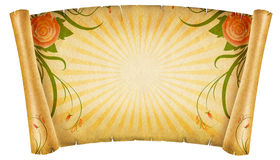Floral vintagel background. Stock Photos