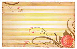 Floral vintagel background. Royalty Free Stock Images