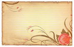 Floral vintagel background. royalty free stock images