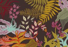 Floral wallaper Royalty Free Stock Images