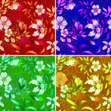 Floral wallpaper. Royalty Free Stock Photos