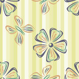 Floral wallpaper Royalty Free Stock Photo