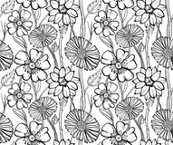 Floral wallpaper Royalty Free Stock Images
