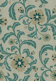 Floral wallpaper. Seamless background classic floral pattern. EPS 10, contains transparency Royalty Free Stock Photo