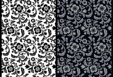 Floral wallpaper. Seamless background classic floral pattern. EPS 10 Stock Photos