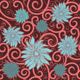 Floral wallpaper Royalty Free Stock Image