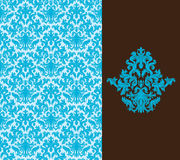 Floral wallpaper. Seamless background from a floral ornament, Fashionable modern wallpaper or textile vector illustration