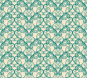 Floral wallpaper. Seamless background from a floral ornament, Fashionable modern wallpaper or textile stock illustration