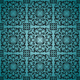 Floral wallpaper. Seamless background from a floral ornament, Fashionable modern wallpaper or textile Stock Photo
