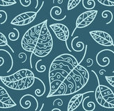 Floral wallpaper royalty free illustration
