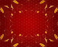 Floral wallpaper background Royalty Free Stock Images