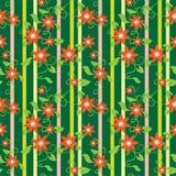 Floral wallpaper, seamless Royalty Free Stock Photos