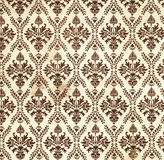 Floral wallpaper. Seamless background of floral Damask wallpaper royalty free stock images