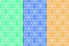 Floral wallpaper. Seamless pattern as textile background Stock Photos