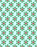 Floral wallpaper Stock Image