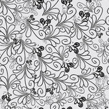 Floral wallpaper. Stock Photography