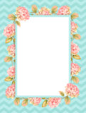 Floral Watercolor modern background Royalty Free Stock Photo